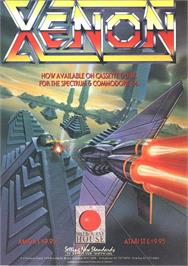 Advert for Xenon on the Atari ST.