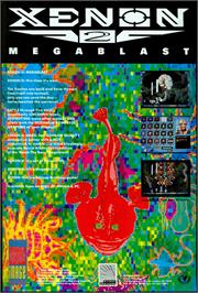 Advert for Xenon 2: Megablast on the Atari ST.