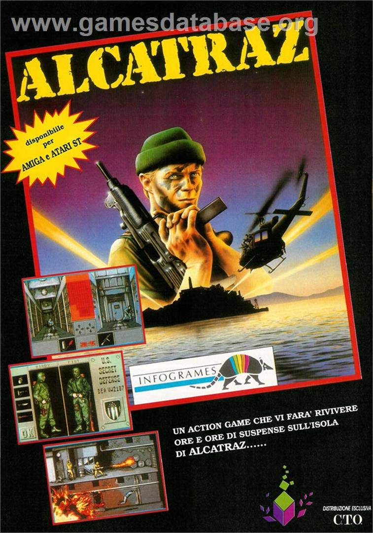 Alcatraz - Atari ST - Artwork - Advert
