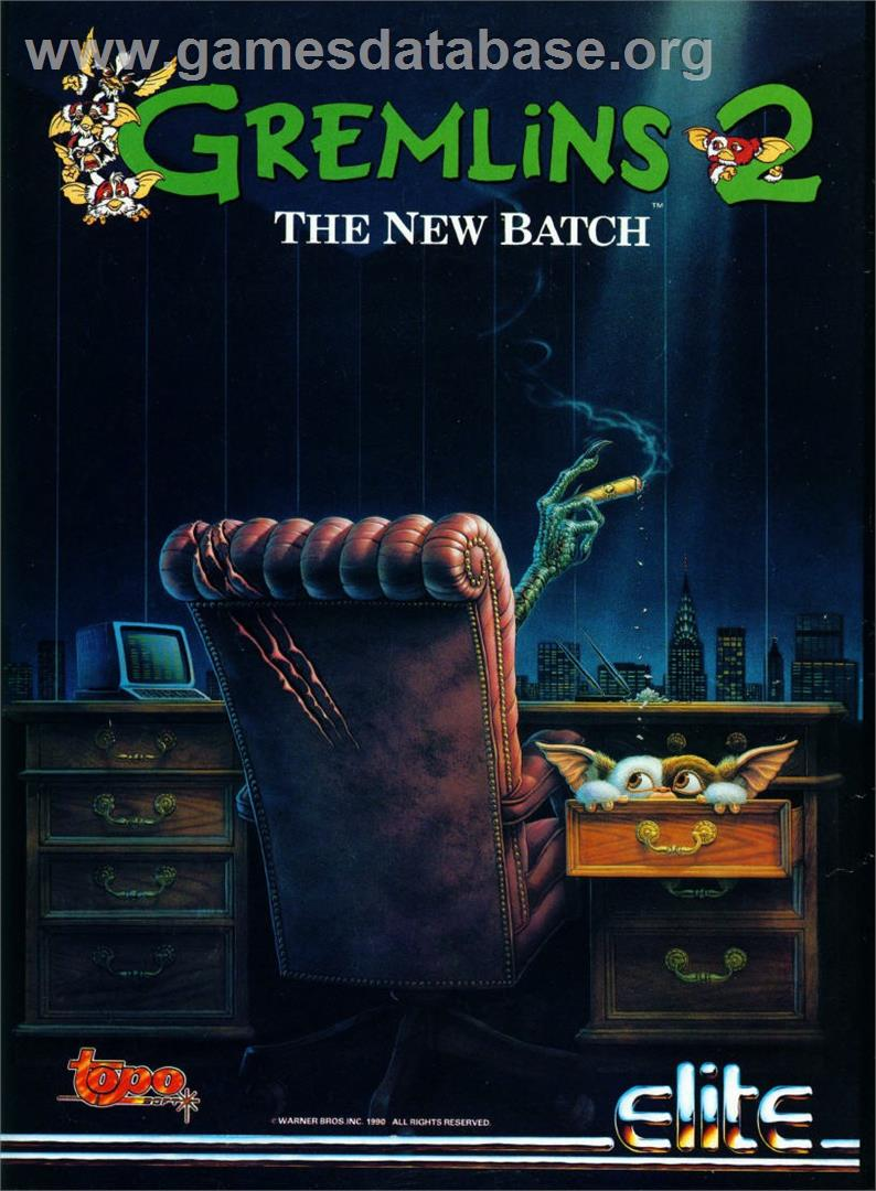 Gremlins 2: The New Batch - Atari ST - Artwork - Advert