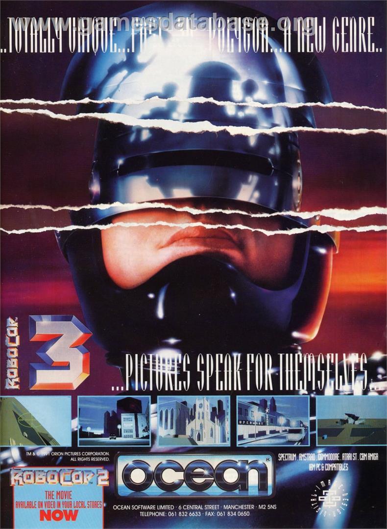 Robocop 3 Commodore Amiga Games Database Picture