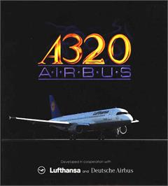Box cover for A320 Airbus on the Atari ST.