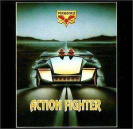 Box cover for Action Fighter on the Atari ST.