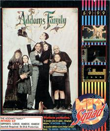 Box cover for Addams Family, The on the Atari ST.