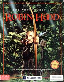 Box cover for Adventures of Robin Hood on the Atari ST.