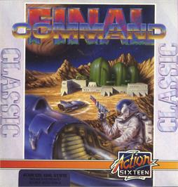 Box cover for Aerial Combat ST on the Atari ST.