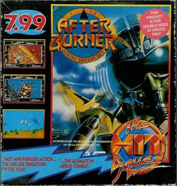 Box cover for After Burner on the Atari ST.