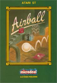 Box cover for Airball on the Atari ST.