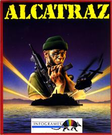 Box cover for Alcatraz on the Atari ST.