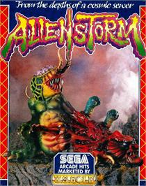 Box cover for Alien Storm on the Atari ST.