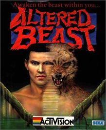 Box cover for Altered Beast on the Atari ST.