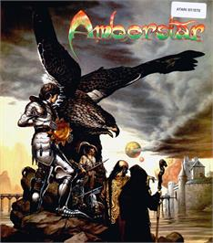 Box cover for Amberstar on the Atari ST.