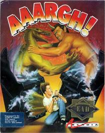 Box cover for Anarchy on the Atari ST.