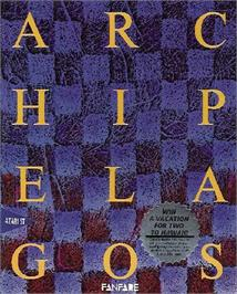 Box cover for Archipelagos on the Atari ST.