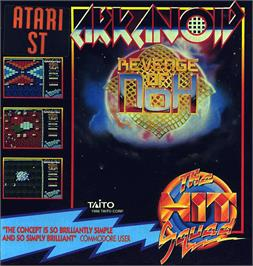 Box cover for Arkanoid - Revenge of DOH on the Atari ST.