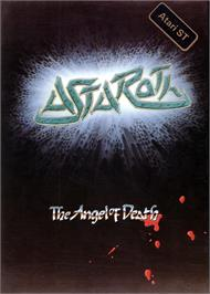 Box cover for Astaroth: The Angel of Death on the Atari ST.