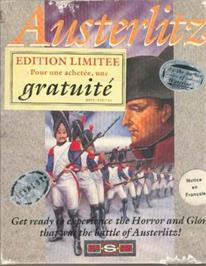 Box cover for Austerlitz on the Atari ST.