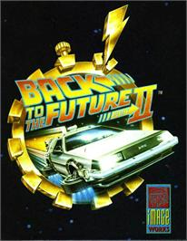 Box cover for Back to the Future 2 on the Atari ST.