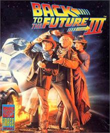Box cover for Back to the Future 3 on the Atari ST.