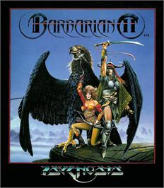 Box cover for Barbarian 2 on the Atari ST.