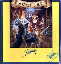 Box cover for Battle Chess on the Atari ST.