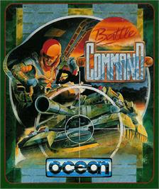Box cover for Battle Command on the Atari ST.