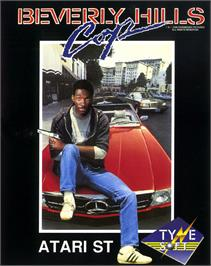 Box cover for Beverly Hills Cop on the Atari ST.