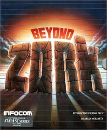 Box cover for Beyond Zork: The Coconut of Quendor on the Atari ST.