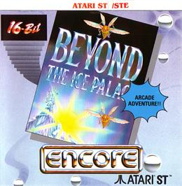 Box cover for Beyond the Ice Palace on the Atari ST.