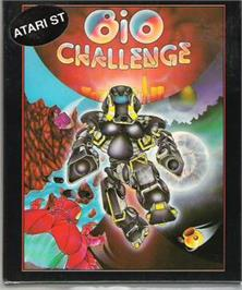 Box cover for Bio Challenge on the Atari ST.
