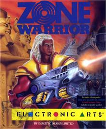 Box cover for Blade Warrior on the Atari ST.