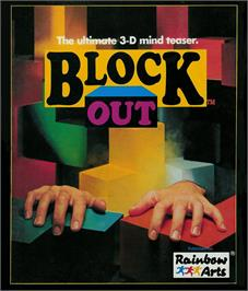 Box cover for Blockout on the Atari ST.