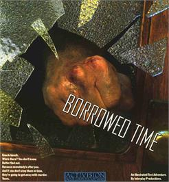 Box cover for Borrowed Time on the Atari ST.