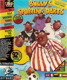 Box cover for Bully's Sporting Darts on the Atari ST.