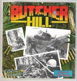 Box cover for Butcher Hill on the Atari ST.