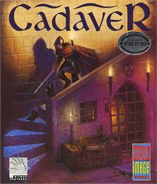 Box cover for Cadaver on the Atari ST.