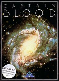 Box cover for Captain Blood on the Atari ST.
