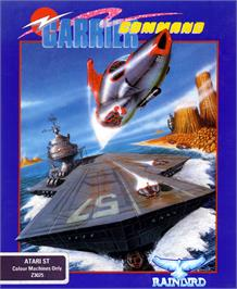 Box cover for Carrier Command on the Atari ST.