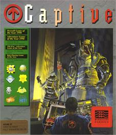 Box cover for Carthage on the Atari ST.