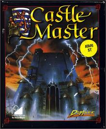 Box cover for Castle Master on the Atari ST.