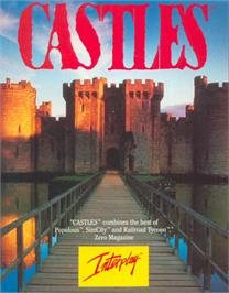 Box cover for Castles on the Atari ST.