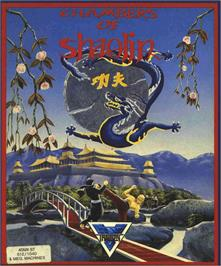 Box cover for Chambers of Shaolin on the Atari ST.