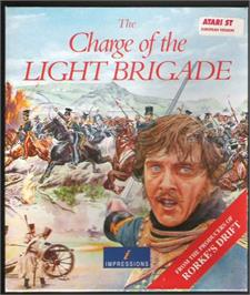 Box cover for Charge of the Light Brigade on the Atari ST.