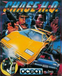 Box cover for Chase H.Q. on the Atari ST.