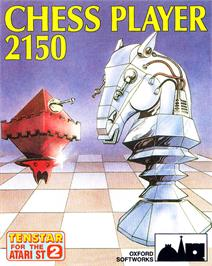 Box cover for Chess Player 2150 on the Atari ST.