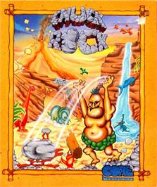 Box cover for Chuck Rock on the Atari ST.