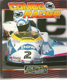 Box cover for Combo Racer on the Atari ST.