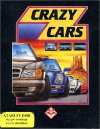 Box cover for Crazy Cars on the Atari ST.