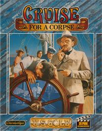 Box cover for Cruise for a Corpse on the Atari ST.