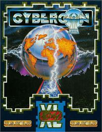 Box cover for Cybercon 3 on the Atari ST.